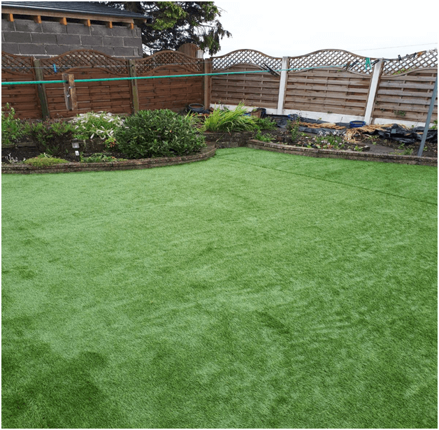 What Goes Under Artificial Grass?