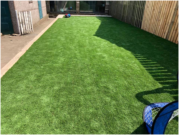 How to Lay Artificial Grass on Uneven Ground?