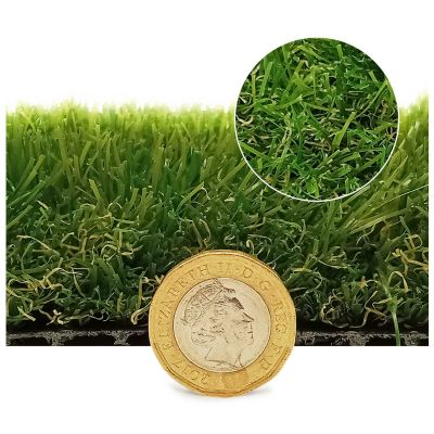 Sample of 40mm Cape Verde Super Soft Artificial Grass